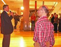 Hartmann präsentiert Interstuhls Flaggschiff-Bürostuhl Silver bei Breuninger