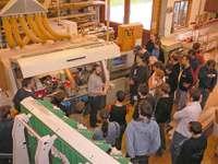 Geographie Exkursion bei den Möbelmachern in Unterkrumbach