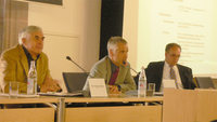 Die Christian August Gesellschaft diskutierte Podium im Sulzbacher Rathaus