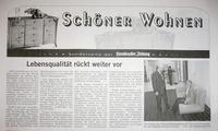 """""""Schöner Wohnen"""" Beilage der HZ sehr sparsam"""