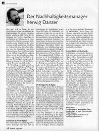 "Beitrag im Nachhaltigkeitsmagazin ""factorY"""