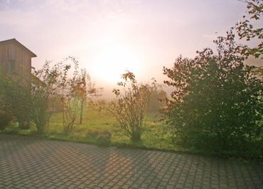 Morgenstimmung in Unterkrumbach