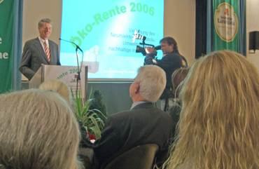 Öko-Rente 2006 – Die Lammsbräu Neumarkt zeichnet vorbildliches Engament aus