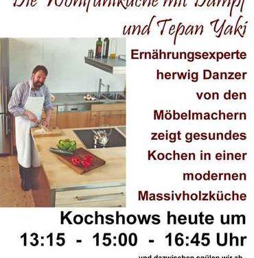 Sonntag: Heute Kochshows im Biomarkt Lauf von 13-18 Uhr
