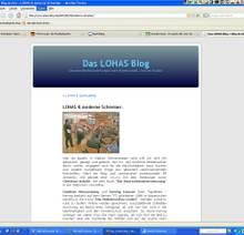 Det Müller lobt die Möbelmacher im Lohas-Blog – Lohas Treffen in Frankfurt