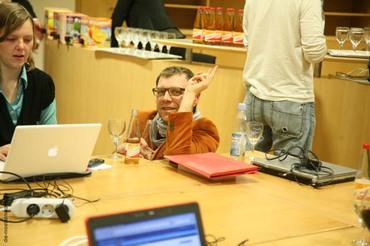Biofachblogger im Pressecenter West