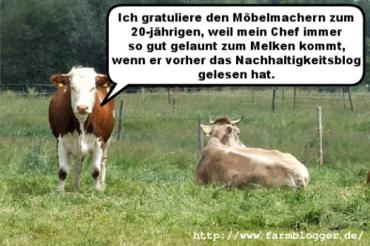 Farmbloggerkuh
