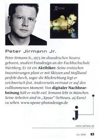 Peter Jirmann jun. im Playboy falsch dargestellt