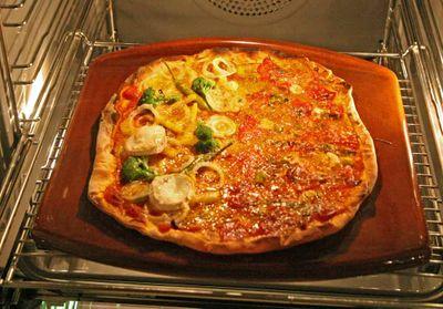 Pizza mit Miele-Backstein ist besser – hätt´s nicht geglaubt