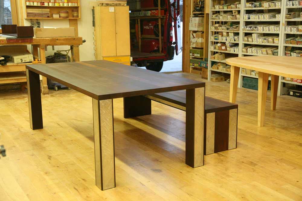 massivholztisch aus thermobuche das nachhaltigkeitsblog der m belmacher. Black Bedroom Furniture Sets. Home Design Ideas