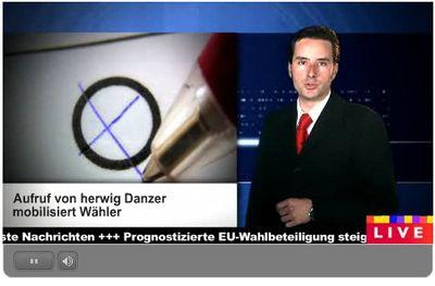 Mein Aufruf zur EU-Wahl im österreichischen Fernsehen