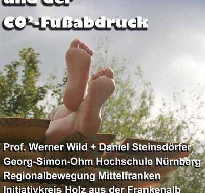 """Klimawoche Bayern: """"Regionale Wirtschaftskreisläufe und der CO² Fußabdruck"""" Diplomand Daniel Steinsdörfer referiert"""