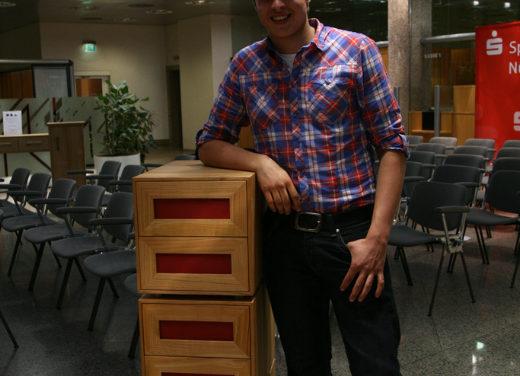 Die gute Form 2009 – Alexander Setschödi von den Möbelmachern bekommt den zweiten Platz