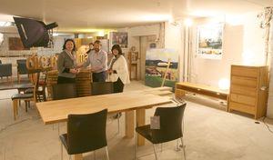 ROHBAUexklusiv: Die Möbelmacher beteiligen sich an Kunstausstellung in der Kaiserstraße