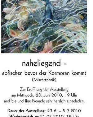 Werner Tögel – naheliegend – abfischen bevor der Kormoran kommt