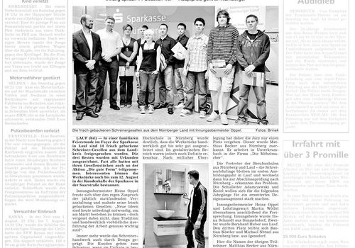 Gute Form 2010 mal wieder skandalverdächtig in der Zeitung
