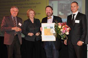 Video der Verleihung des Deutschen Lokalen Nachhaltigkeitspreises an die Möbelmacher