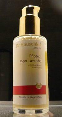 Dr. Hauschka Produkttest: Pflegeöl Moor Lavendel