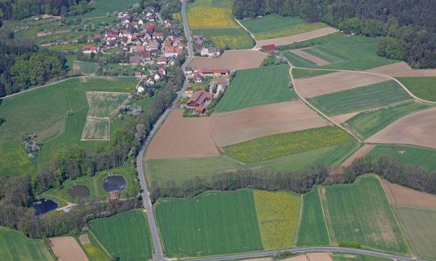 Neue Luftbilder von Unterkrumbach