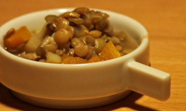 Rezept für den arabischen Linsentopf auf der Hersbrucker Gewerbeschau