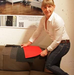 Newsletter Nr. 70: Polstermöbel jetzt auch in Stoff, TV-Möbel und runterfallende Decken