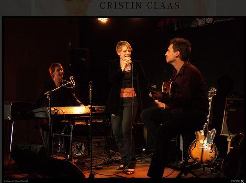 Samstag im Kick: Cristin Claas Trio