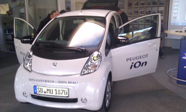 Elektroautos für die Cittaslow Hersbruck