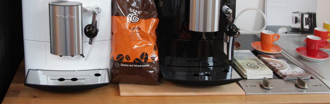 Durch Miele ersetzter Kaffeeautomat verrichtet in Lettland gute Dienste