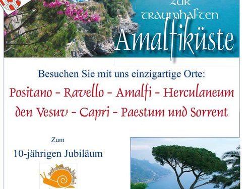Bürgerreise zum 10-jährigen Cittalsow-Jubiläum vom 4.-11. Mai und vom 18.-25. Mai