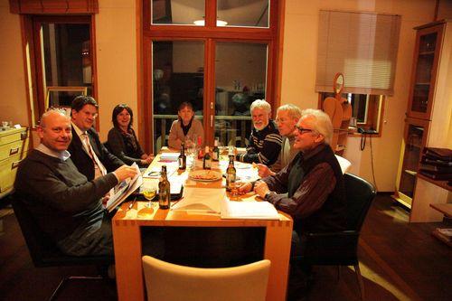 Cittaslow-Freunde in Unterkrumbach und Flammkuchenrezept vegetarisch