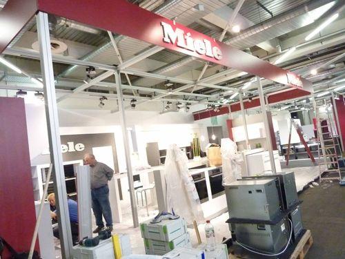 Küchentrends 2012 in München mit Essplätzen