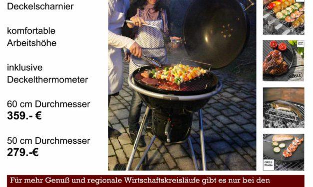Rösle Kugelgrill mit Spießer-Spezialausstattung  – Grilltest Nr. 6