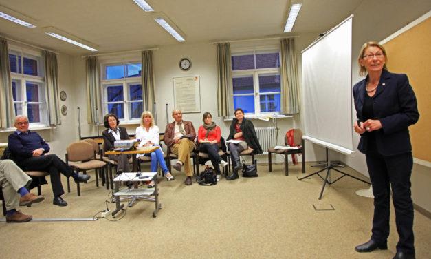 Treffen der Cittaslow-Freunde am 24.4.2012 im Hersbrucker Stadthaus