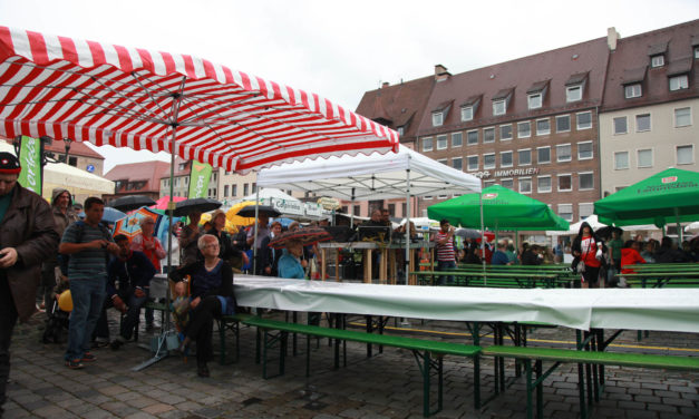 BIOerleben 2012 in Nürnberg Teil 1: der verregnete Freitag