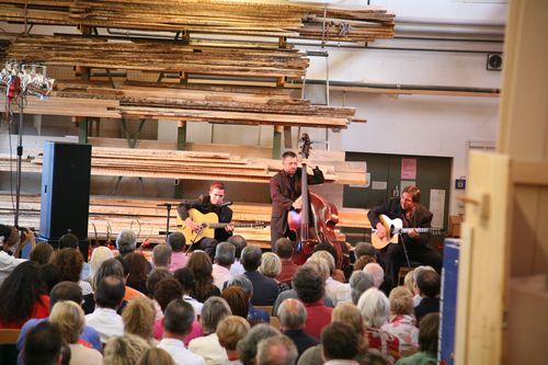 Heute beginnt das Gitarrenfestival in Hersbruck mit Diknu Schneeberger
