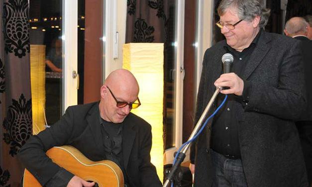 Fitzgerald Kusz und Klaus Brandl im Dehnberger Hoftheater am Mi. 10 Okt.