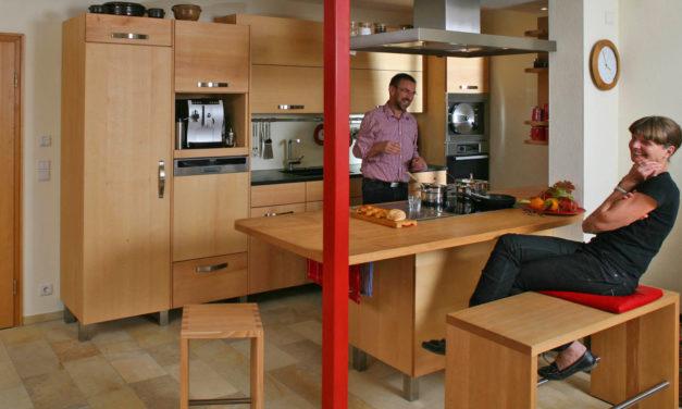 Für Massivholzküche müssen Wände weichen
