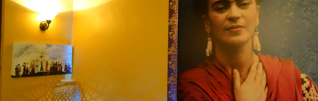Kunst im Cafe Frida Kahlo