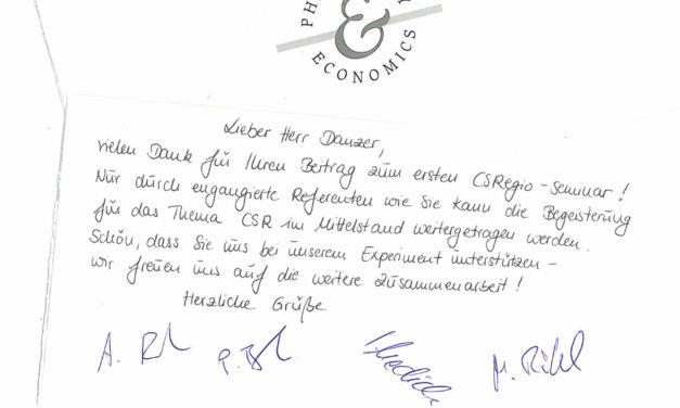 Guerilla-Kochen in Bayreuth – ein schöner Abend dank CSRegio