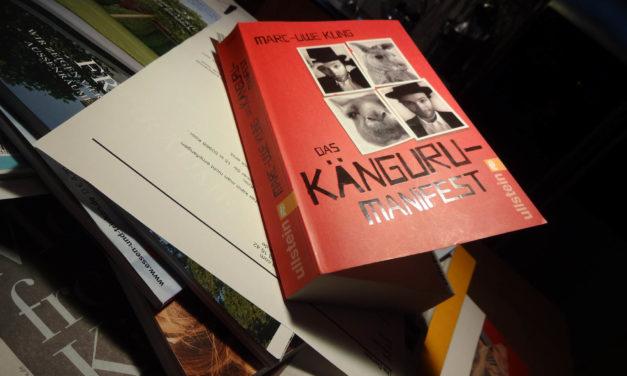 Das Känguru-Manifest von Marc-Uwe Kling macht Freude