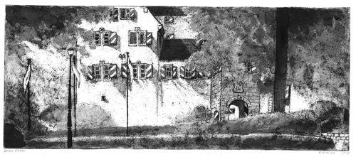 Einladung zur Vernisage von Nora Matocza im Schloss Henfenfeld