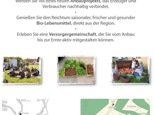 """Infoabend der Erntegemeinschaft Vorderhaslach """"Solidarische Landwirtschaft"""""""