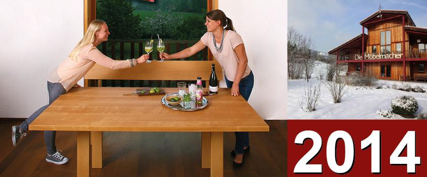 Newsletter Nr. 97: Kalender 2014, tolle Köchinnen, Möbel und Sofas