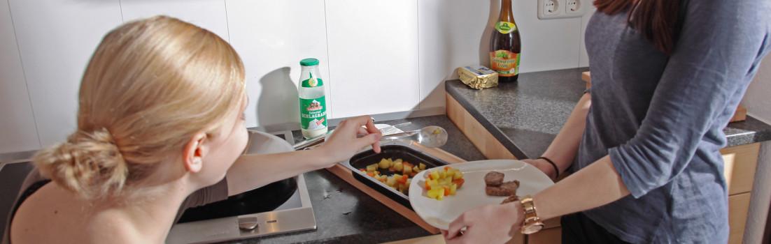 """Das """"Making of"""" des Videos über die barrierefreie Küche"""