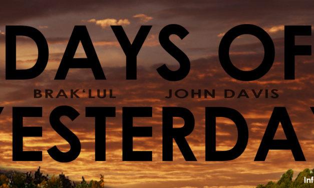 """""""DAYS OF YESTERDAY"""" Releaseparty am 7.6.2014 in der Indabahn/Nürnberg"""