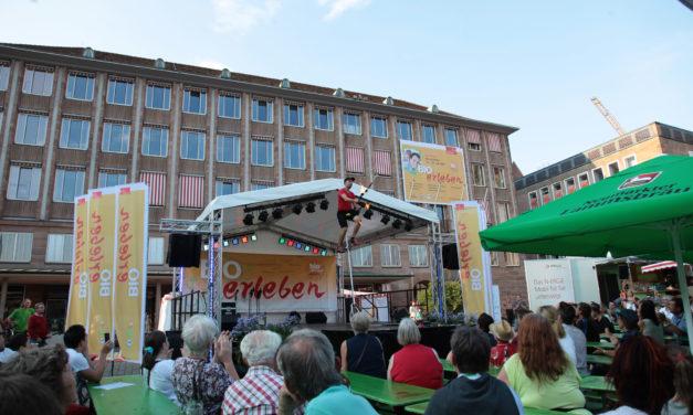 BIOerleben 2014 am Freitag