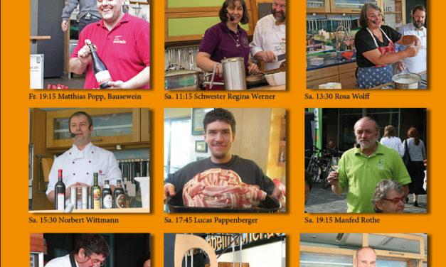 Newsletter 104: BIOerleben, Bettgeschichten und Nussbaumtisch mit Rohstahlgestell