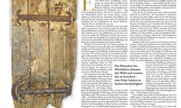 Über die Langlebigkeit von Holz am Beispiel einer 1500 Jahre alten Tür – von Ulrich Grober