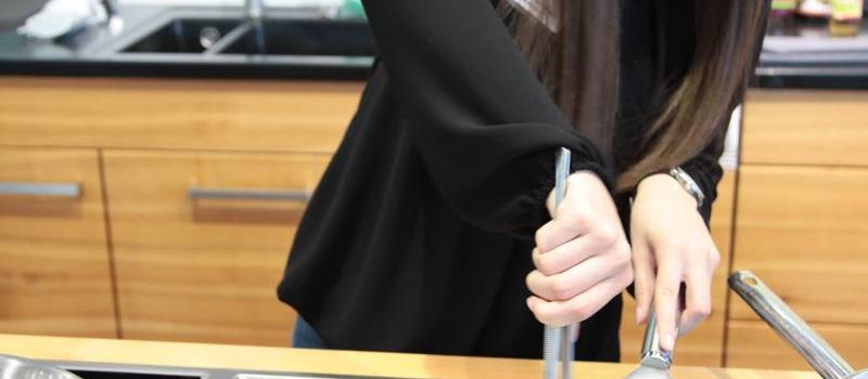 """""""Starke Frauen"""" auf der Consumenta 2014 in der fem-Frauenhalle"""