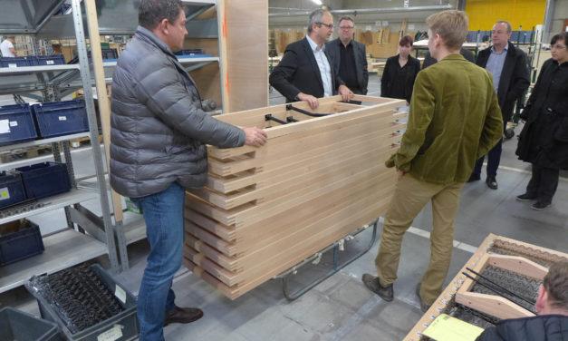 Stefan Winter und Mathias Deinhard bei der Jori-Schulung in Belgien